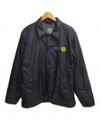 OLD STUSSY(オールドステューシー)の古着「コーチジャケット」|ブラック