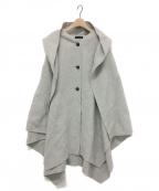 styling/ kei shirahata(スタイリング / ケイ シラハタ)の古着「リバーケープコート」 グレー