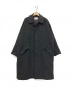 TROVE(トローブ)の古着「シングルウールコート」|グレー