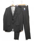 nano・universe(ナノユニバース)の古着「ストライプ2Bスーツ」 グレー