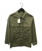 A.P.C.(アーペーセー)の古着「VEST ARMY DUKE:ミリタリージャケット」 カーキ