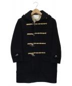 ()の古着「ダッフルコート」|ブラック
