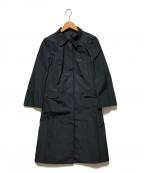 JIL SANDER NAVY(ジルサンダー ネイビー)の古着「ステンカラーコート」 ネイビー