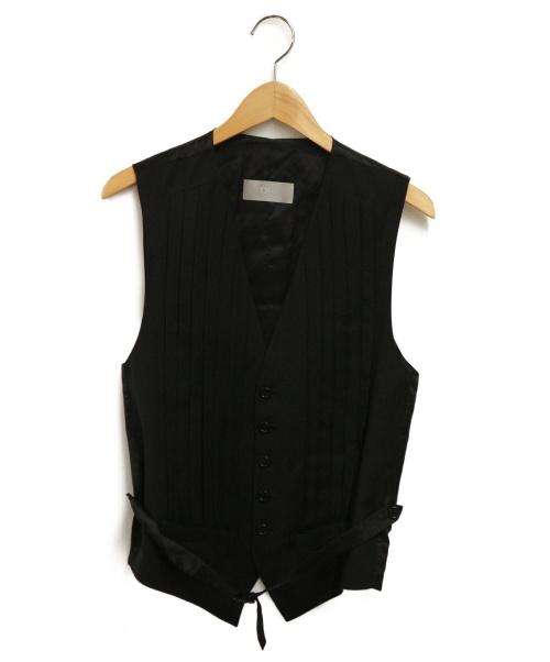 DIOR HOMME(ディオール オム)Dior Homme (ディオールオム) ジレ ブラック サイズ:表記なしの古着・服飾アイテム