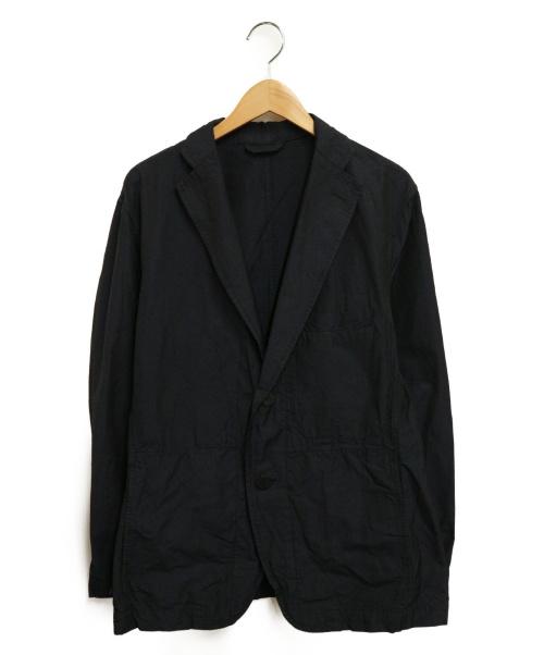 ISSEY MIYAKE MEN(イッセイミヤケメン)ISSEY MIYAKE MEN (イッセイミヤケメン) 2Bジャケット ネイビー サイズ:3の古着・服飾アイテム