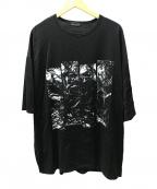 LAD MUSICIAN(ラッドミュージシャン)の古着「ビッグTシャツ」 ブラック