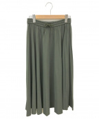 ANTEPRIMA(アンテプリマ)の古着「スカート」|オリーブ