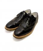 COMMON PROJECTS(コモンプロジェクツ)の古着「ウィングチップシューズ」|ブラック