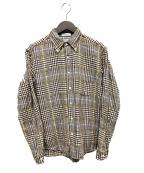 INDIVIDUALIZED SHIRTS(インディビジュアライズドシャツ)の古着「チェックシャツ」|ブラウン
