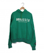 SWAGGER()の古着「パーカー」|グリーン