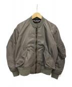 JUNYA WATANABE COMME des GARCONS(ジュンヤワタナベ コムデギャルソン)の古着「MA-1ジャケット」|グレー