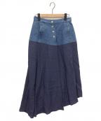 RITO(リト)の古着「異素材ドッキングスカート」