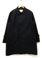 nanamica(ナナミカ)の古着「ゴアテックスステンカラーコート」|ネイビー