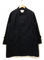 nanamica()の古着「ゴアテックスステンカラーコート」 ネイビー