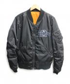 AVIREX()の古着「リバーシブルブルゾン」|ブラック