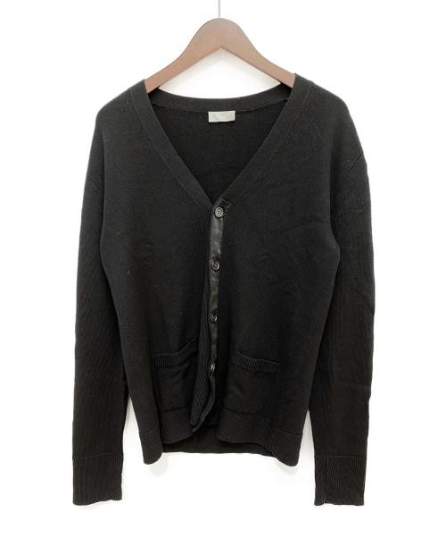 DIOR HOMME(ディオール オム)Dior Homme (ディオールオム) ニットカーディガン ブラック サイズ:Mの古着・服飾アイテム