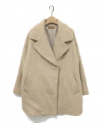 Ameri VINTAGE()の古着「UNDRESSED ROUND SHAGGY COAT」|ベージュ