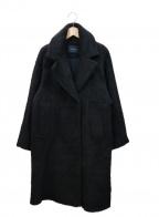 la vie de Leory(ラビデュレオリー)の古着「シャギーオーバールーズコート」|ブラック