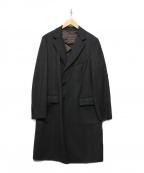 Belvest(ベルベスト)の古着「チェスターコート」|ダークグレー