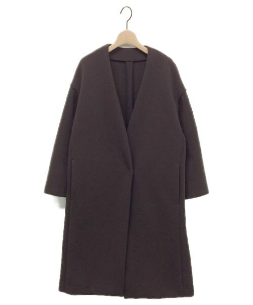 Plage(プラージュ)Plage (プラージュ) スポンジリバーコート ブラウン サイズ:38 19020922103030の古着・服飾アイテム