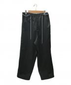 NEON SIGN()の古着「Personal Circle Switch Fitパンツ」|ブラック