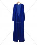 DIANE VON FURSTENBERG()の古着「シルクワンピース」 ブルー