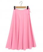 Maison Margiela 4(メゾンマルジェラ4)の古着「フレアスカート」 ピンク