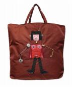 PRADA(プラダ)の古着「ロボットナイロントートバッグ」|ボルドー