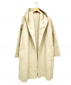 ANAYI()の古着「ウールビーバーリバーフードコート」 ピンク