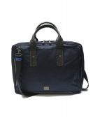 LANVIN en Bleu(ランバンオンブルー)の古着「2WAYビジネスバッグ」|ネイビー