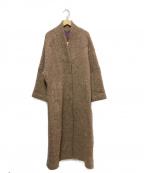 VIVIENNE TAM(ヴィヴィアンタム)の古着「ロングコート」|ブラウン