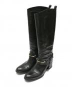 SARTORE(サルトル)の古着「ハーネスブーツ」|ブラック