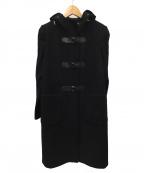 Paul Smith BLACK(ポールスミスブラック)の古着「フーデッドコート」|ブラック
