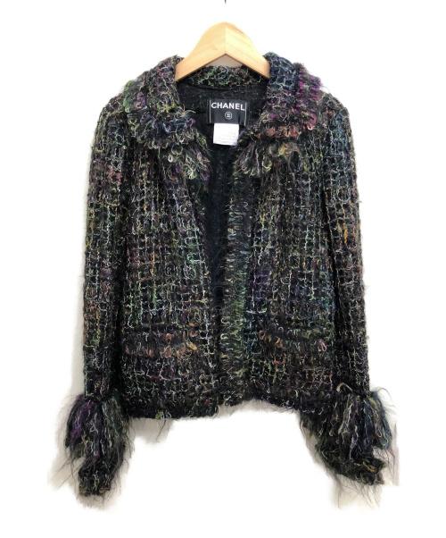 CHANEL(シャネル)CHANEL (シャネル) ツイードジャケット サイズ:36の古着・服飾アイテム