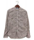 JUNYA WATANABE COMME des GARCONS(ジュンヤワタナベ コムデギャルソン)の古着「フラワープリントシャツ」|ピンク