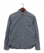 COMME des GARCONS HOMME()の古着「シャンブレーシャツ」|ブルー