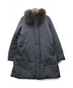 MACKINTOSH PHILOSOPHY(マッキントッシュフィロソフィー)の古着「リバーシブルダウンコート」|ブラック
