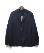BOGLIOLI(ボリオリ)の古着「3Bジャケット」 ネイビー