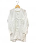 RITO(リト)の古着「サイドスリットシャツ」 ホワイト