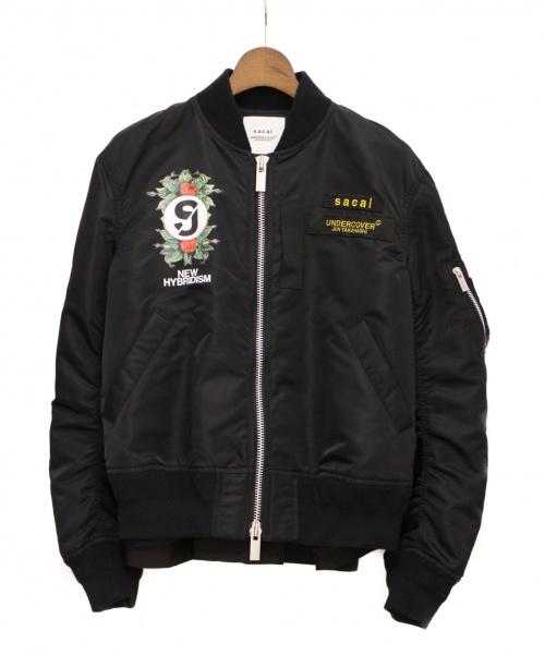 sacai(サカイ)sacai (サカイ) 20SS Customized MA-1 Blouson ブラック サイズ:2の古着・服飾アイテム