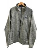 Patagonia(パタゴニア)の古着「ベターセータージャケット」 グレー