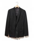 ato(アトウ)の古着「ウールプレミアムギャバジャケット」 ブラック