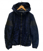 Francis T MOR.K.S(フランシストモークス)の古着「スワロフスキージップパーカー」|ネイビー