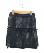 COMME des GARCONS(コムデギャルソン)の古着「プリーツスカート」 ブラック