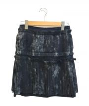COMME des GARCONS(コムデギャルソン)の古着「プリーツスカート」|ブラック