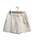 3.1 phillip lim(スリーワンフィリップリム)の古着「ショートパンツ」 アイボリー