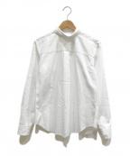 BLACK COMME des GARCONS(ブラックコムデギャルソン)の古着「バックアンドフォースシャツ」 ホワイト