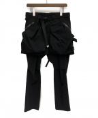 Comfy Outdoor Garment(コンフィーアウトドアガーメンツ)の古着「20AW CORDURA KILTIC PANTS」|ブラック