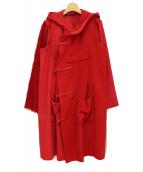 UNDERCOVER(アンダーカバー)の古着「切替コート」|レッド