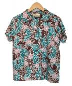 ()の古着「アロハシャツ」|ブルー